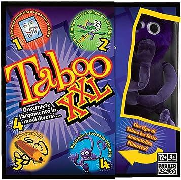 Hasbro Taboo XXL - Juego de Mesa (versión en Italiano) [Importado de Italia]: Amazon.es: Juguetes y juegos