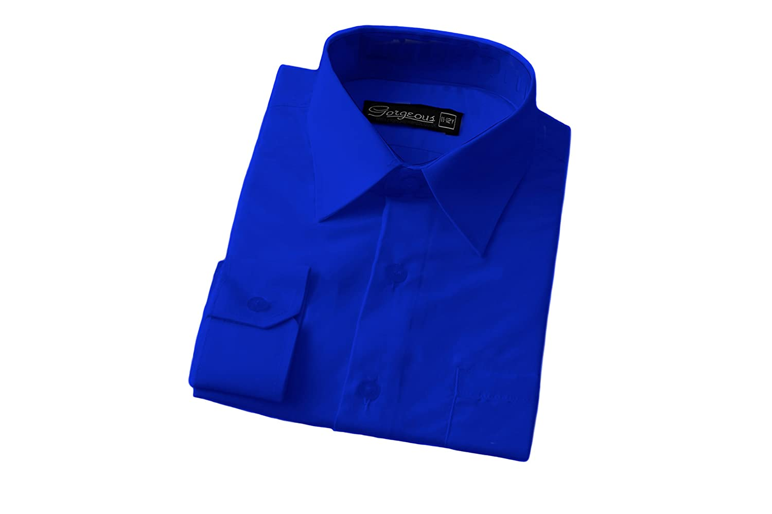 TALLA 16 Lrg. Gorgeous Collection - Camisa Formal - para Hombre
