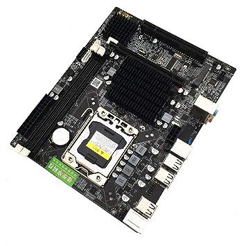 X58 Motherboard Tarjeta Madre con Descuento con CPU Intel ...