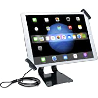 "CTA Digital Pad-ATGSL Adjustable Anti-Theft Security Grip & Stand for iPad Pro & Large Tablets 9.7""-13"""