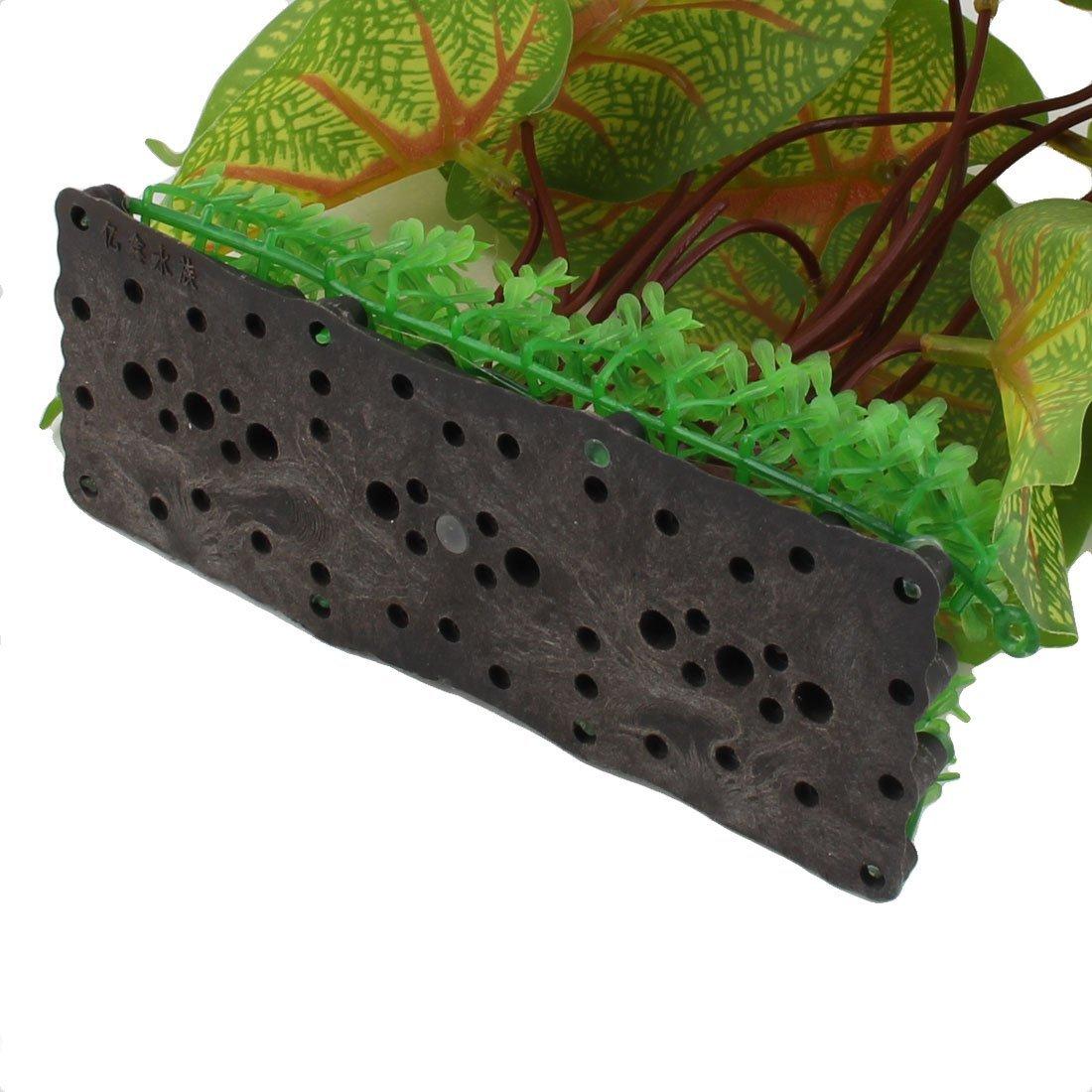 Amazon.com : eDealMax Lotus hoja de la planta de agua plástico Artificial del acuario acuario decoración Tricolor : Pet Supplies
