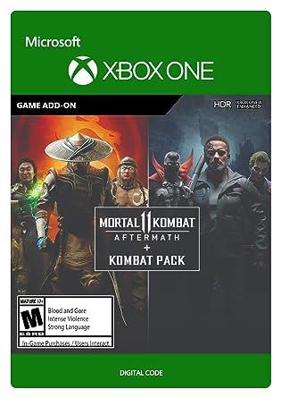 Amazon Com Mortal Kombat 11 Aftermath Kombat Pack Xbox One
