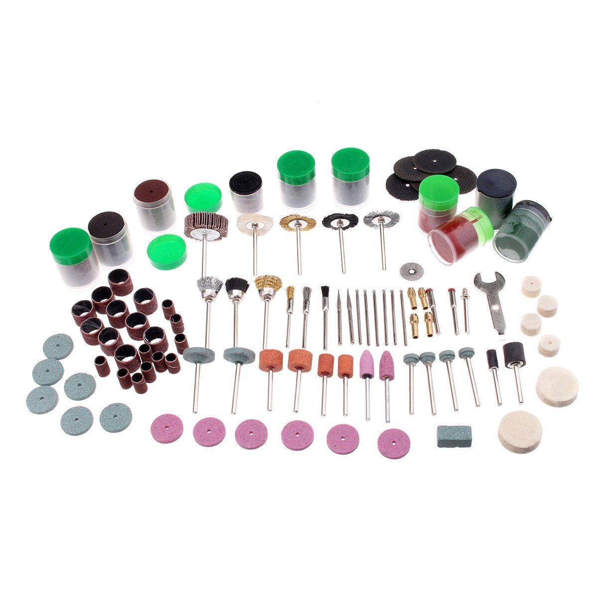 Hitommy 262pcs Multi Rotary Power Drill Kit Polishing Sanding Grinding Tool Accessories Abrasive Tool