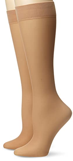 d94943a47bf Amazon.com  Via Spiga Women s Flawless Finish Knee High Sock