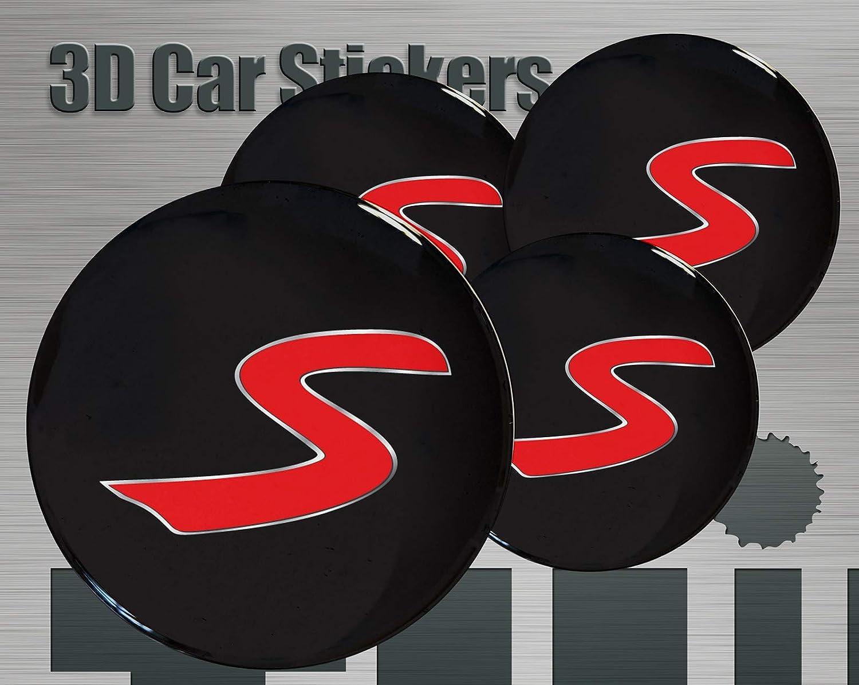 58 mm Think Ink Adesivi 3D Stickers Logo Imitazione Tutte Le Dimensioni Centro cap Wheel Coprimozzo