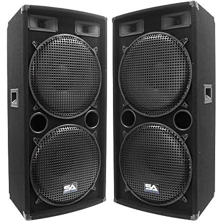 two front facing seismic audio sa-155.2