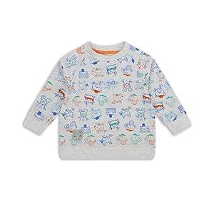 The Essential One - Bébé Enfant Garçon Pull / Sweat-shirt - Gris/Orange/Bleu/Vert - EOT245