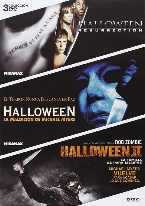 Pack: Halloween Resurrección + Halloween Maldición + Halloween II ...
