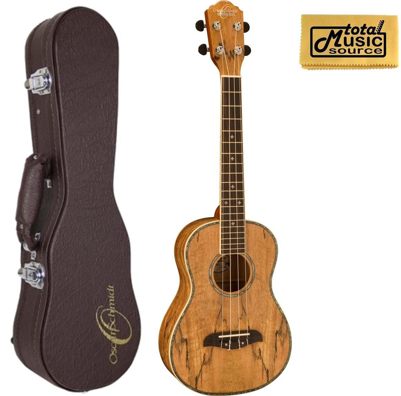 Oscar Schmidt 4-String Tenor Ukulele OU7TE