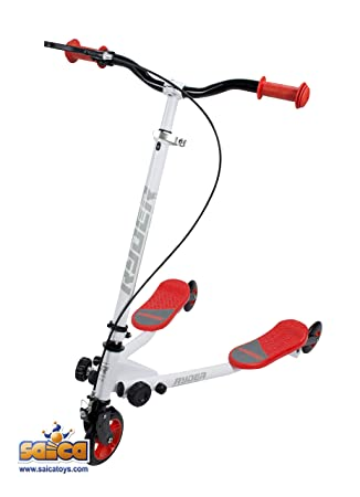 Saica Rojo Patinete Doble Base Ryder Speeder, Color Blanco ...