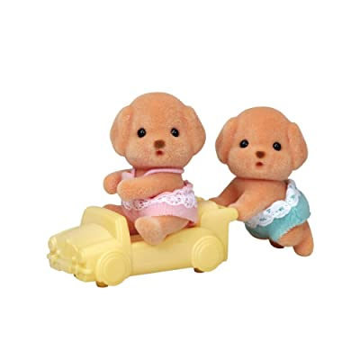 Calico Critters Toy Poodle Twins: Toys & Games
