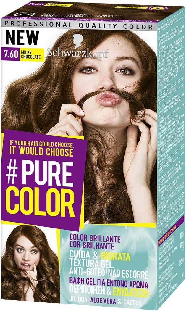 Schwarzkopf Pure Color Tinte Permanente 7.60 Milky Chocolate