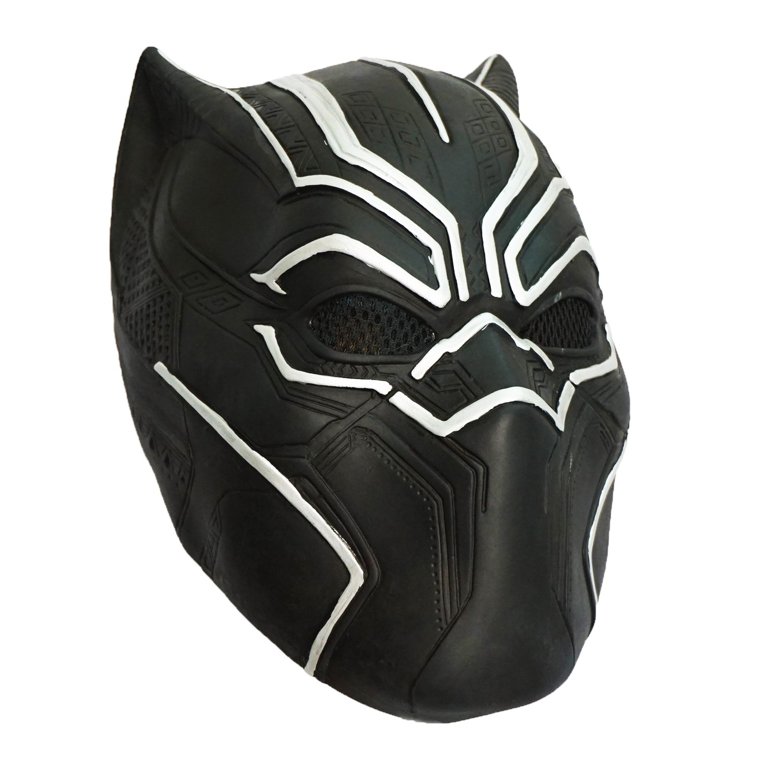 Civil War Black Panther Mask Captain America 3 Hero Latex Helmet Halloween Cosplay
