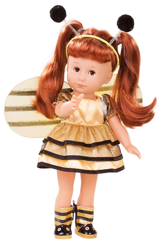 Götz 1813031 Just Like me - Lucia Lucia Lucia die Biene Puppe - 27 cm große Stehpuppe mit extra Langen roten Haaren, braunen Schlafaugen in Einem 6-teiligen Set ab634c
