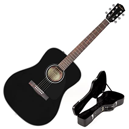 c9336f4d4fb Image Unavailable. Image not available for. Colour: Fender CD-60  Dreadnought Acoustic Guitar ...