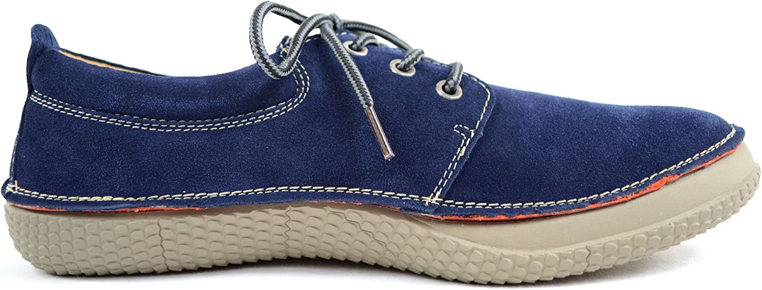 SNUGRUGS Mens Genuine Leather Suede Summer//Holiday Boat//Deck Shoes