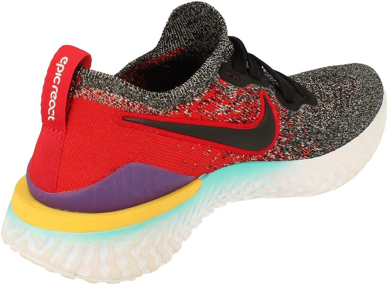 NIKE Epic React Flyknit 2 (GS), Zapatillas de Atletismo para Niños: Amazon.es: Zapatos y complementos