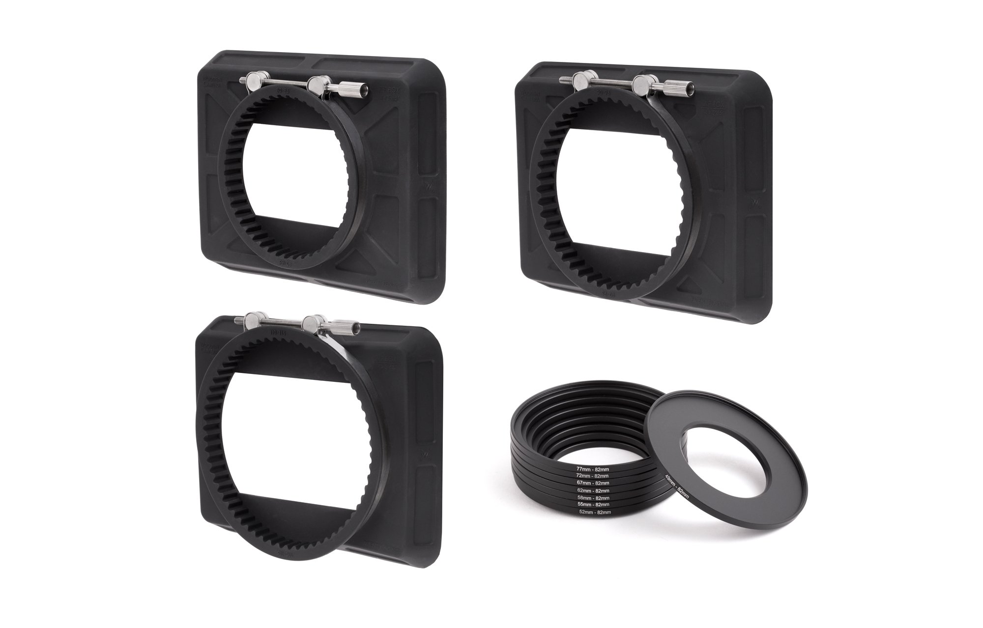 Wooden Camera - Zip Box Kit 4x5.65 (80-85mm, 90-95mm, 110-115mm, Adapter Rings)