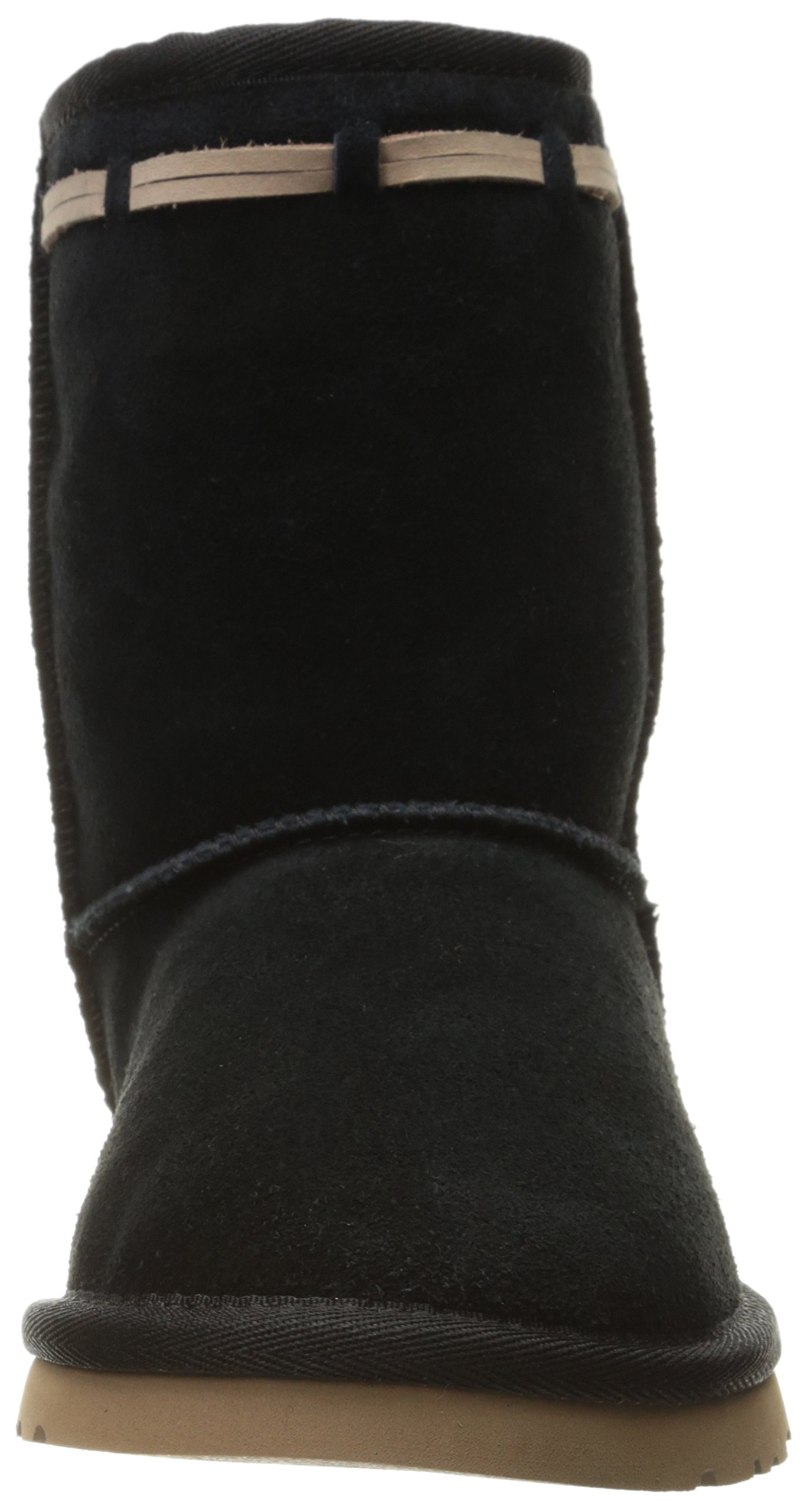 UGG Kids' K Classic Short Carranza Pull-on Boot, Black, 2 M US Little Kid by UGG (Image #4)