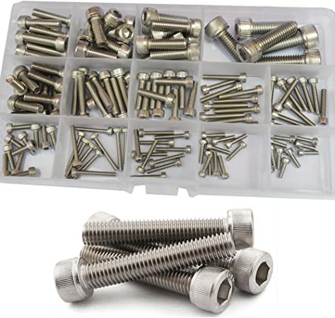 M2 M2.5 M3 HEX HEAD CAP SOCKET SCREWS ALLEN BOLTS SHCS HIGH TENSILE 12.9 DIN912
