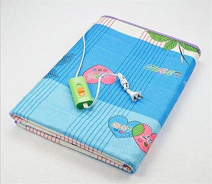 FFJTS Manta eléctrica doble engrosada dormitorio de seguridad no tejido engrosamiento cama de la casa manta
