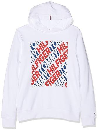 Tommy Hilfiger Jungen Fashion Graphic Hoodie Kapuzenpullover