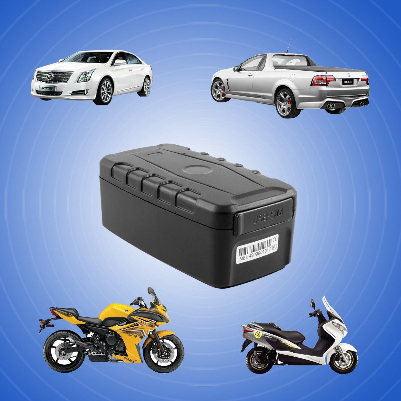 Incutex localizador ratsreador GPS TK 106 de Largo Alcance y duración con Soporte magnético – Impermeable: Amazon.es: Electrónica