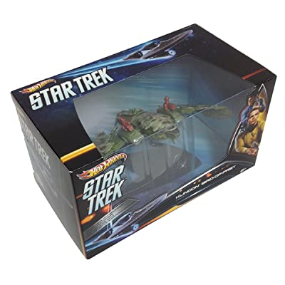 Hot Wheels Collector Star Trek Klingon Bird of Prey Vehicle: Toys & Games