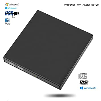 Elefante Xu® – Grabadora de DVD y CD R/RW externa USB 2.0 para