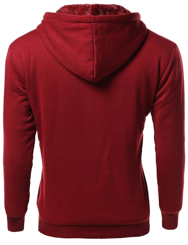 Amazon.com: youstar Basic – Camiseta de Piel Forro Sudadera ...