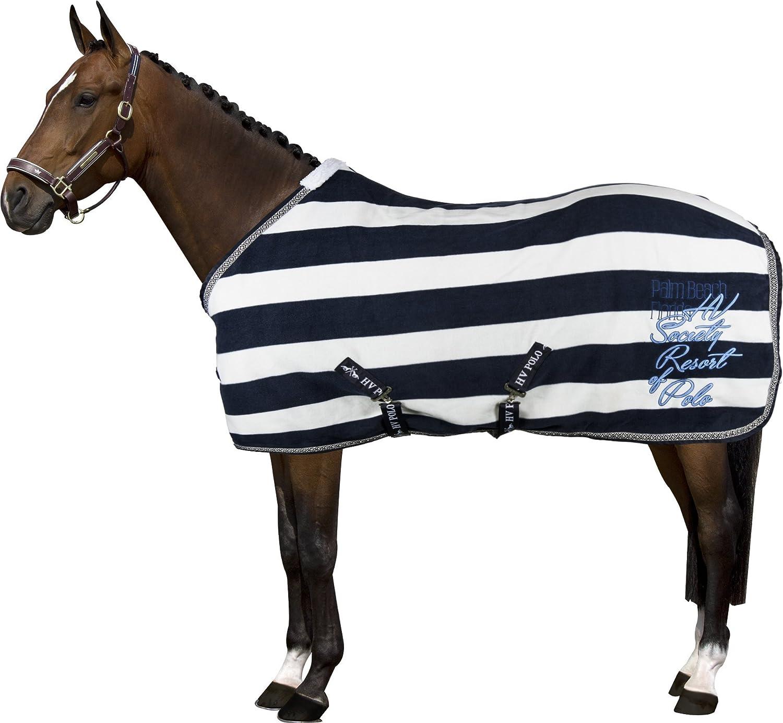 HV Polo óptico de cristal de caballo Manta de forro polar – azul ...