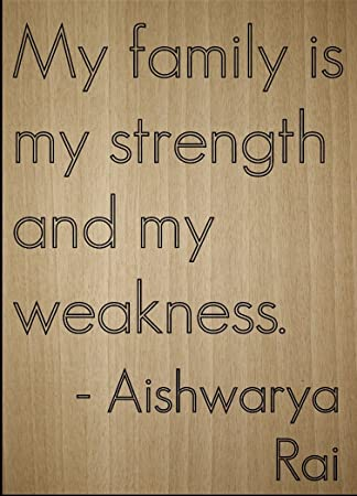 Amazoncom My Family Is My Strength And My Quote By Aishwarya