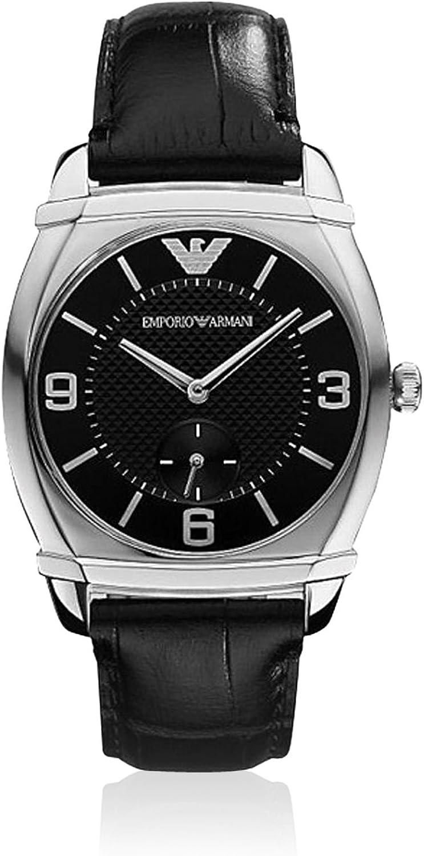 Emporio Armani Classic Leather Ladies Watch AR0344: Amazon.ca: Watches