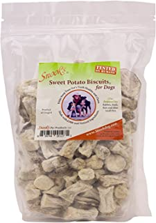 product image for Snook's Sweet Potato Biscuits for Dogs, 16oz