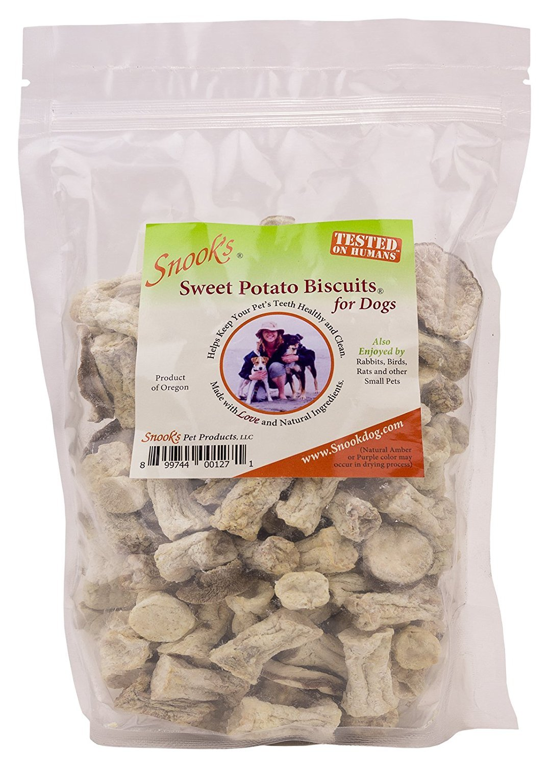 Snook's Sweet Potato Biscuits for Dogs, 8oz