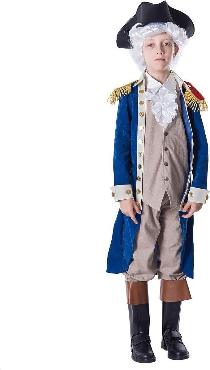 Brand New Classic George Washington Child Costume