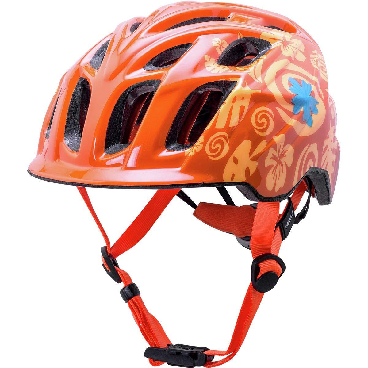 Kali Protectives Chakra Child Helmet - Kids' Tropical Orange, One Size