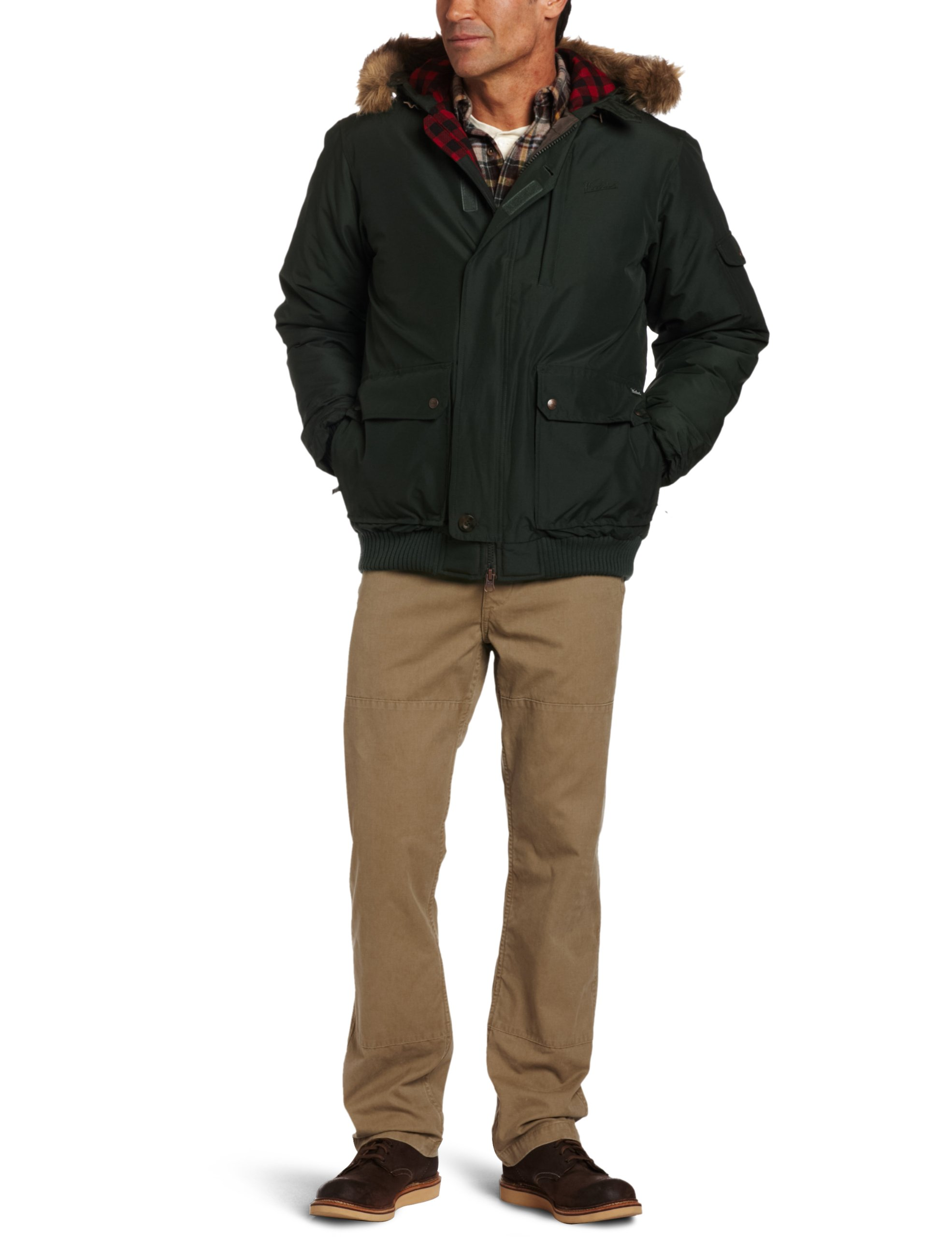 Woolrich Men's Rescue Jacket, Elm, X-Large