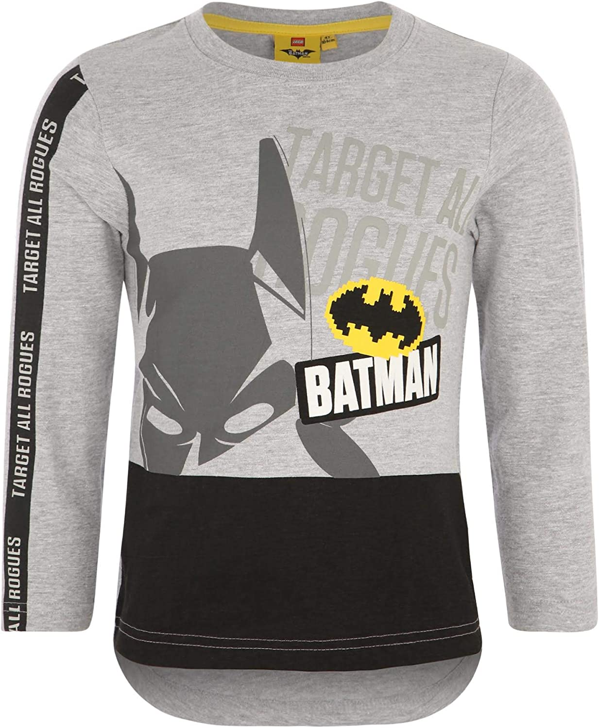 LEGO Batman Tshirts L//S 140, Grey