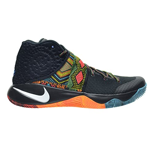 new concept a29b9 34343 Nike Kyrie 2 BHM Men s Shoes Black Multi-Color 828375-099 (10.5