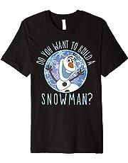 Disney Frozen Olaf Do You Want To Build A Snowman T-Shirt