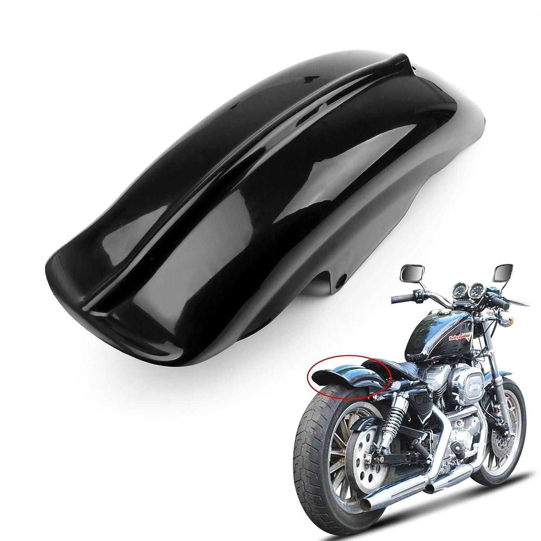 Motorcycle Wheel Rear Side Mudguard Exhaust Cover Fender for Harley Sportster Bobber Chopper Cafe Racer Artudatech Motorbike Mudguard Fender Cover