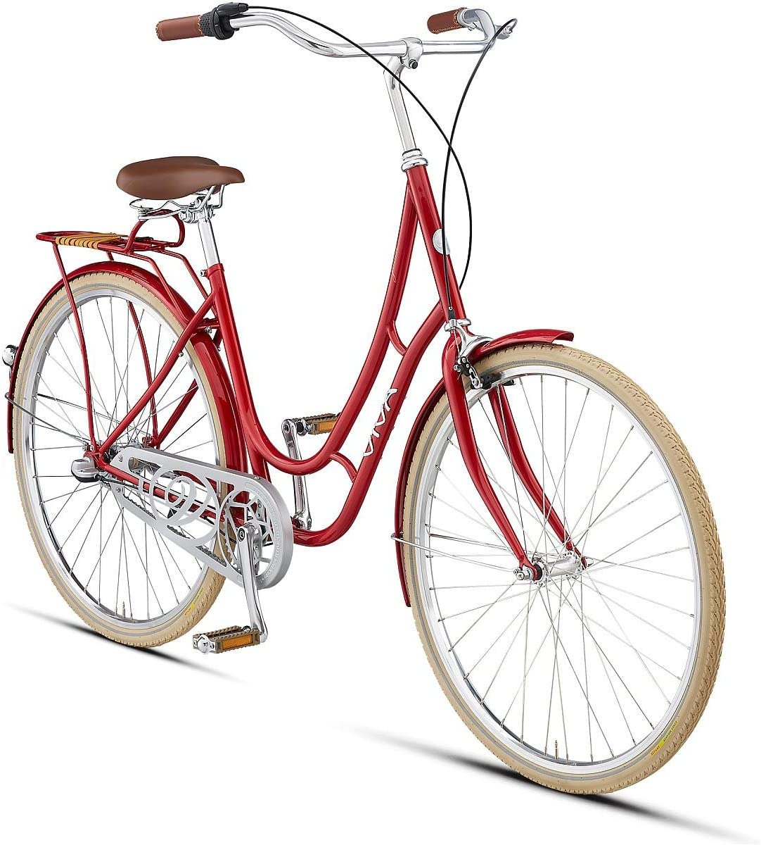 Viva Juliett 3 Metallic Red 47 cm City Cruiser 700 C Bicycle