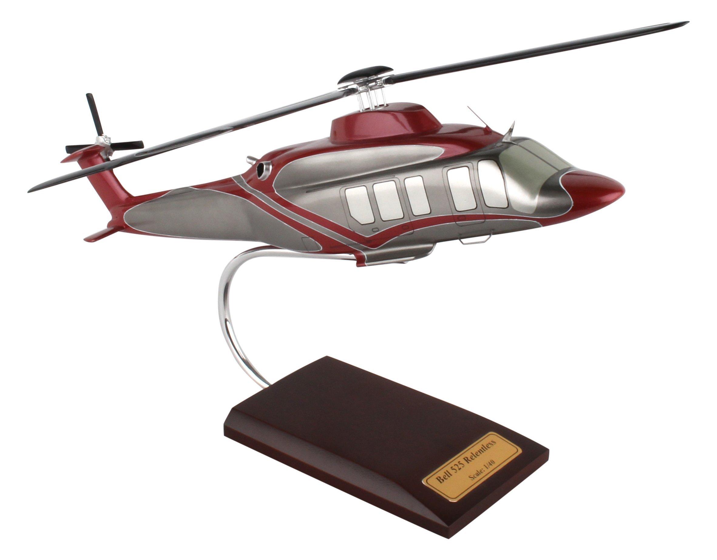 Executive Series Models Bell 525 Relentless Helicopter (1/40 Scale) by Executive Series Models