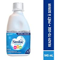 Similac Advance Step 1 Non-GMO Baby Formula, Ready To Use, 945ml, 0+ Months, Blue