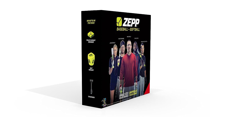 Zepp Unisex 3D-Bewegungssensor für Baseballschläger, Z-Serie, für iPhone/iPad und Android grün grün ZA1B2EU