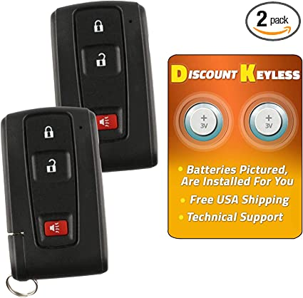 TOYOTA PRIUS Key without Smart Entry Black Logo MOZB21TG