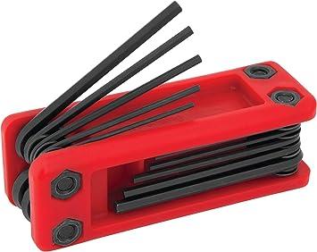 Performance Tool W9184 Folding SAE Hex Key Set