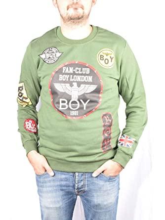 Boy London - Sudadera - para Hombre: MainApps: Amazon.es: Ropa y accesorios