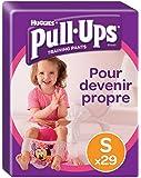 Huggies Pull-Ups Mutandine di apprendimento per bambina, 29 pezzi, Taglia S (8-15 kg)